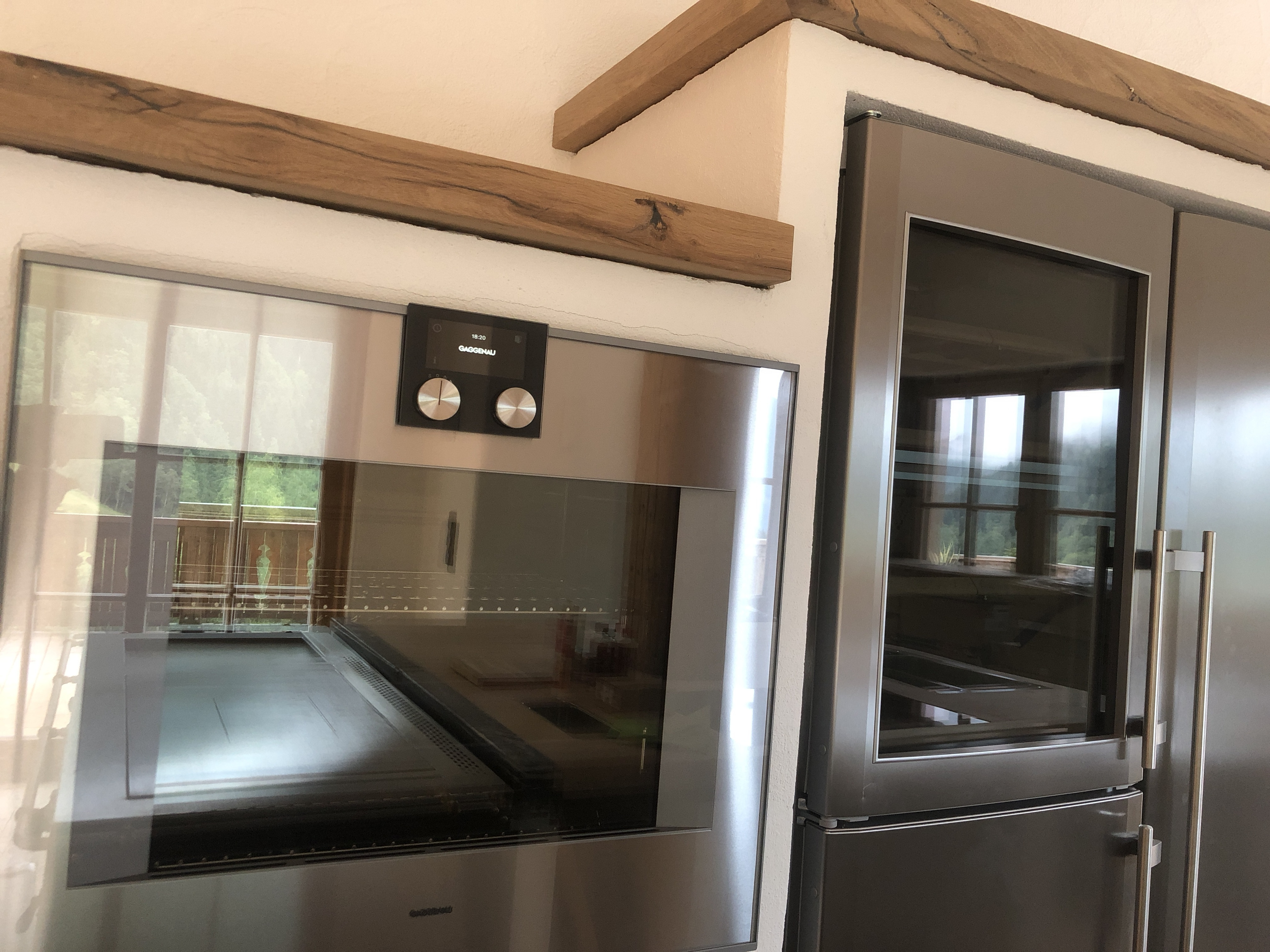 Amerikanischer Kühlschrank Liebherr : Küche mit side by side kühlschrank